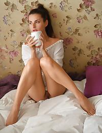 Jasmine Jazz nude in erotic MORNING COFFEE gallery