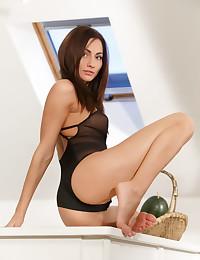 Michaela Isizzu nude in erotic DAY START gallery - MetArt.com