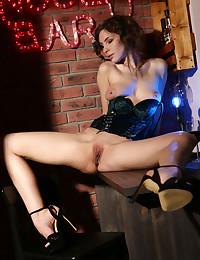 Galina A nude in erotic NUDE BAR gallery - MetArt.com
