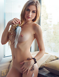 Amelia Gin nude in erotic WINDOW SEAT gallery - MetArt.com