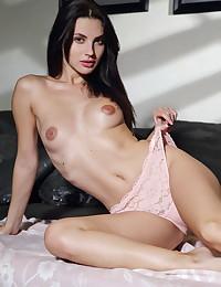 Jasmine Jazz nude in erotic PINK LACE gallery