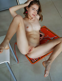 Shayla nude in erotic PIZZA CHEF gallery