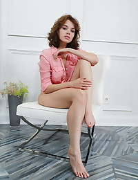 Keira Blue nude in softcore Kittled PINK gallery - MetArt.com