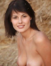 Vivacious smile, brilliantly alluring body, and wonderful physique.