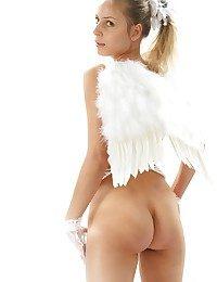 Paradisiacal ultra-cute angel