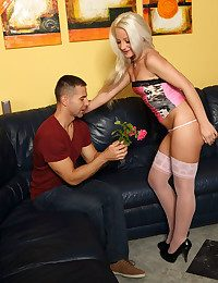 FLOWERS FOR THE Girl with Totti, Anastasia Lee
