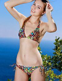 Elle Suntan naked in glamour Introducing ELLE Sunburn gallery