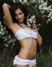Michaela Isizzu nude in erotic ARANIE gallery