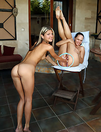 Going knuckle deep ANGEL with Blue Angel, Gina Gerson - ALS Scan