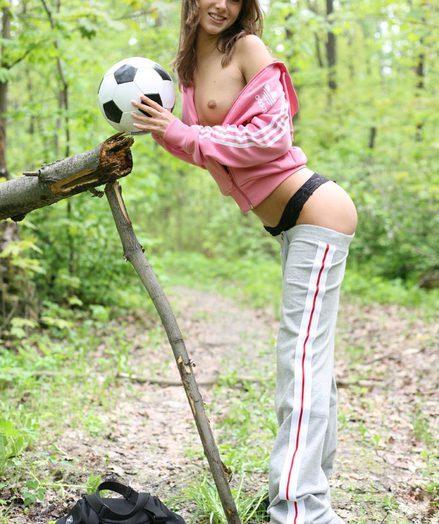 Gung-ho soccer player