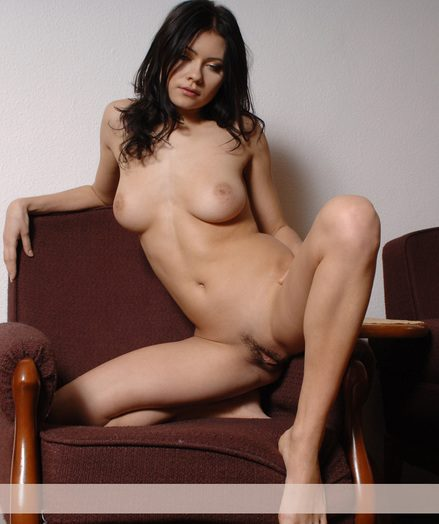 Highly captivating youthful brunet all obese milky jacket showcases say no to splendid pussy.