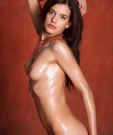 A compelling glance of Lennox' smoldering slim body, lubricated and ideally flashed in erotic, regarding open poses.
