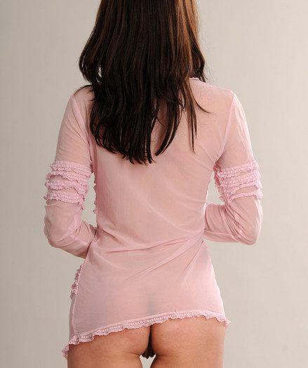 Crotchless leggings baring scrumptiously pettite honeypot added to stellar womanish feet.