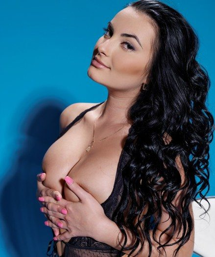 Raven-haired newcummer with mind-blowing surface and inviting charm.