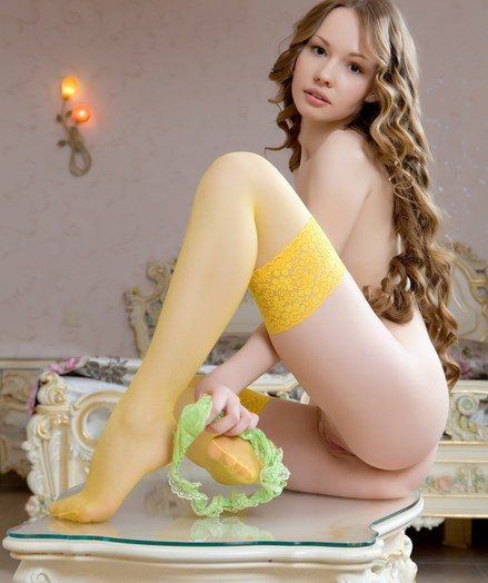 Angelic beauty, agony lustrious curls, sleek honest skin, and bright, alluring personality.