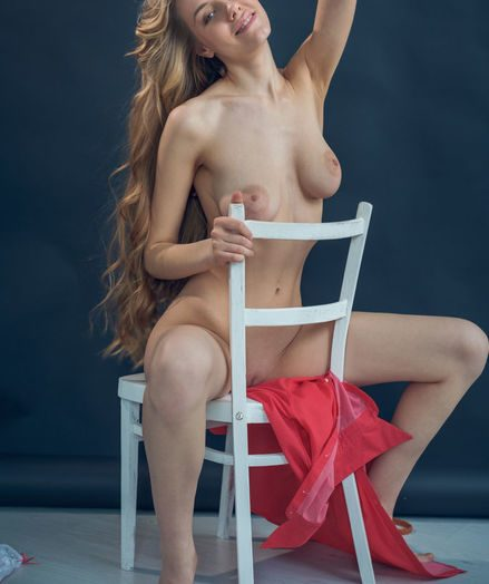 Ryana bare in erotic NEVISA gallery