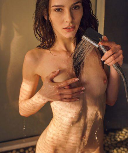 Adel Morel naked in glamour KIOSONA gallery