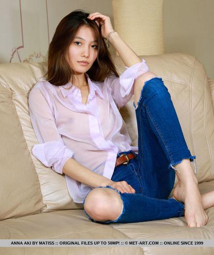 Anna Aki nude in softcore AJORA gallery