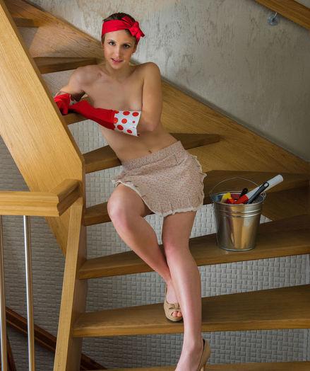Siiri naked in glamour Introducing SIIRI gallery - MetArt.com