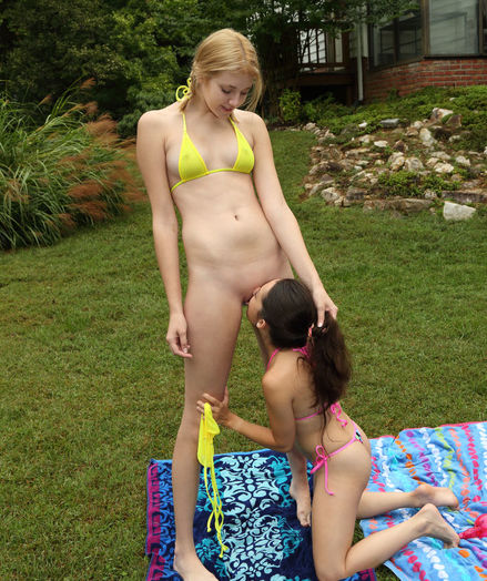 TALL AND SMALL with Freya Von Doom, Lena Anderson