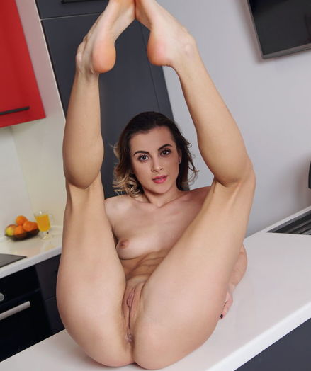 Juck nude in erotic DOE EYES gallery