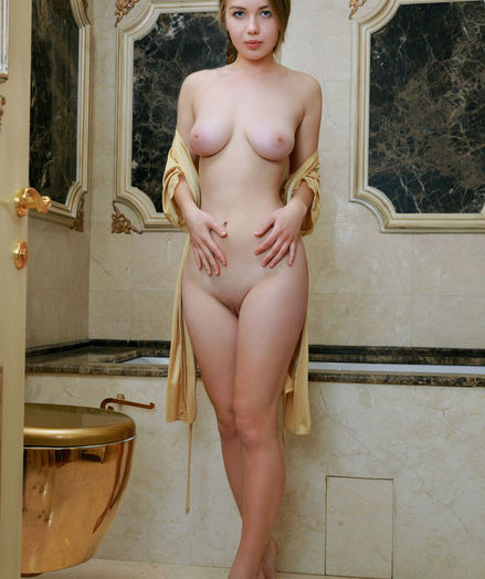 Camilla Stan naked in softcore GOLDEN SPA gallery - MetArt.com