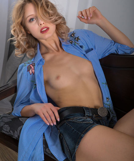Clarice nude in erotic TOUSLED gallery