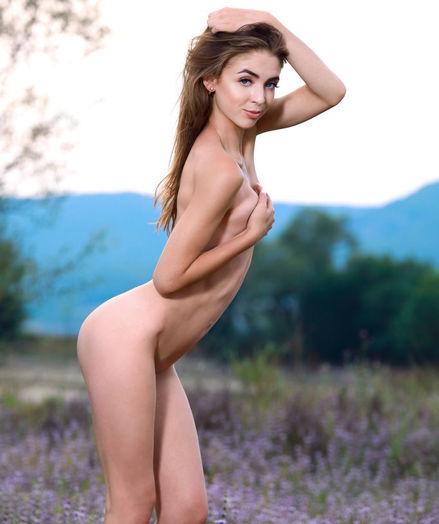 Agatha Ann nude in erotic LAVENDER gallery