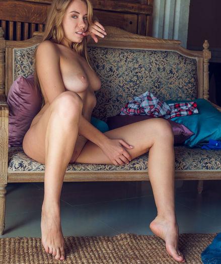 Ryana nude in erotic FLANNEL gallery - MetArt.com