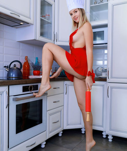 Libby nude in erotic HOTTEST CHEF gallery