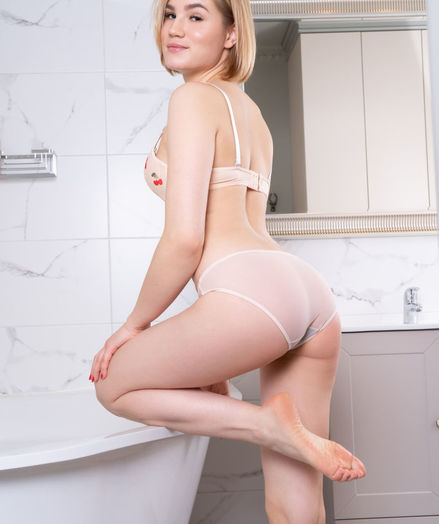 Lilly Mai nude in erotic CHERRY BOTTOM gallery