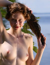 Comely mermaid alfresco